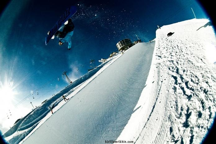 Сноубордист. Фото: Кирилл Умрихин