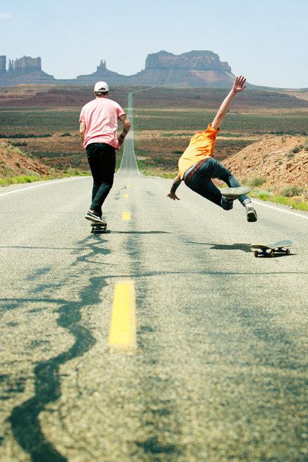Фотограф: David Lehl. Спортсмены Casey Capper, Andy Orley. Долина Монументов, США
