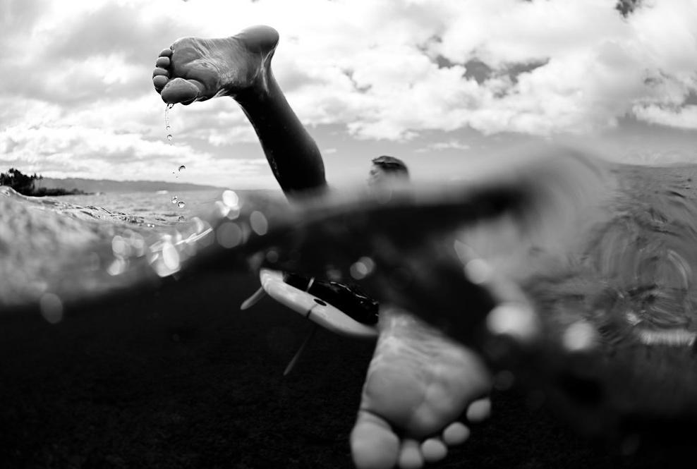 Фотограф: Morgan Maassen. Спортсмен Rebecca Ronald. Гавайи, США