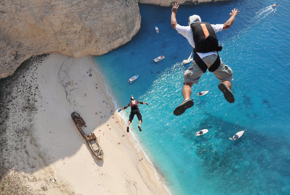 Фотограф: Dimitrios Kontizas. Спортсмены Hubert Schober, Kedley Oliveti. Закинтос, Греция