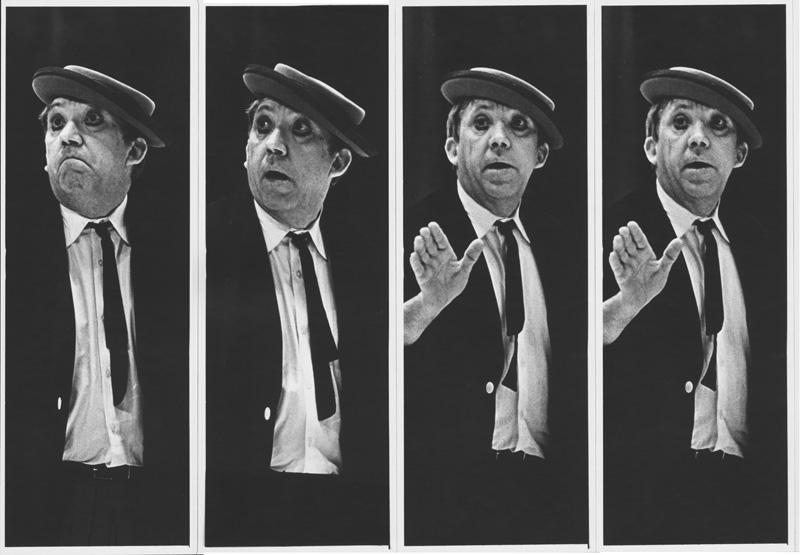 «На арене Ю.Никулин». Москва. Цирк на Цв.Бульваре, 1974 год. Фото: Александр Абаза
