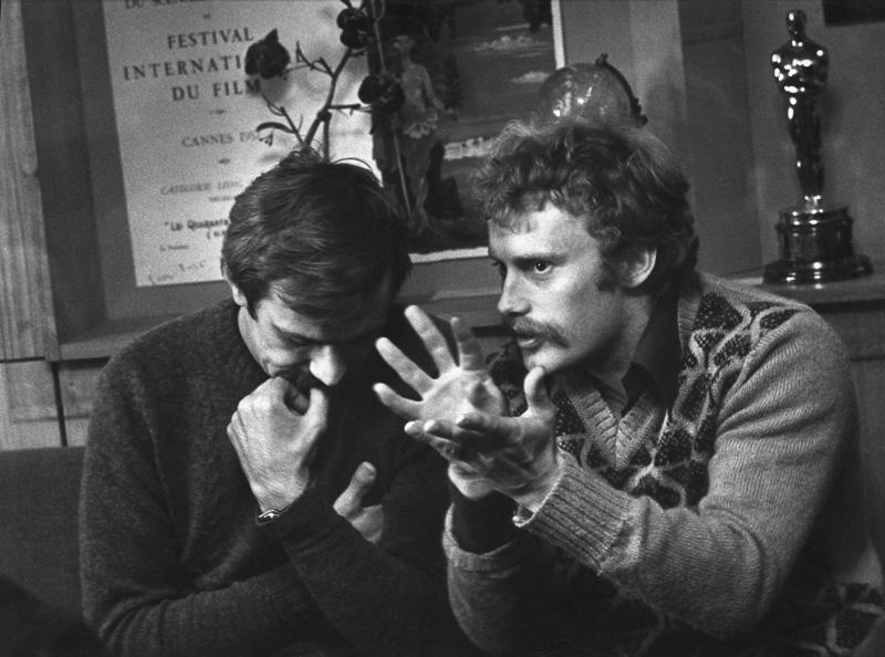 «Разговор по душам. Н. Михалков и Д. Ольбрыхский». 1970 год. Фото: Галина Кмит