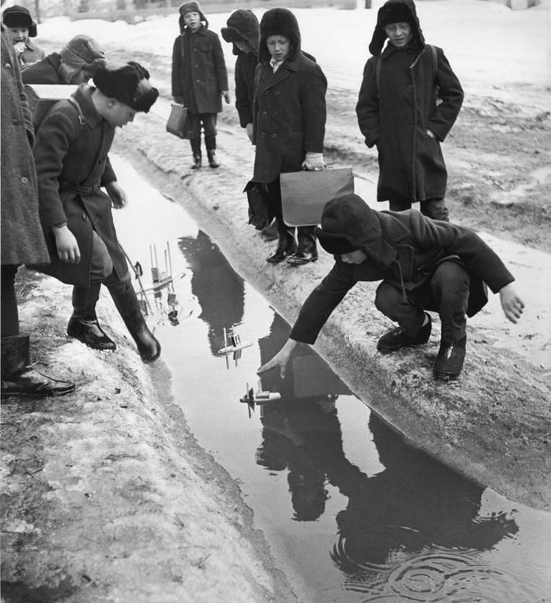 «Сельская школа». 1970 год. Фото: Вадим Опалин