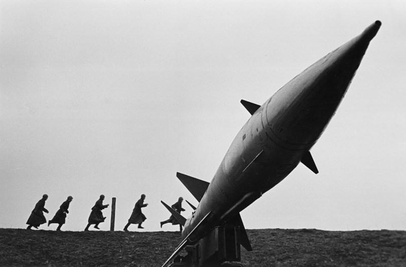 «Тревога на позиции 3УР». 1970 год. Фото: Василий Куняев