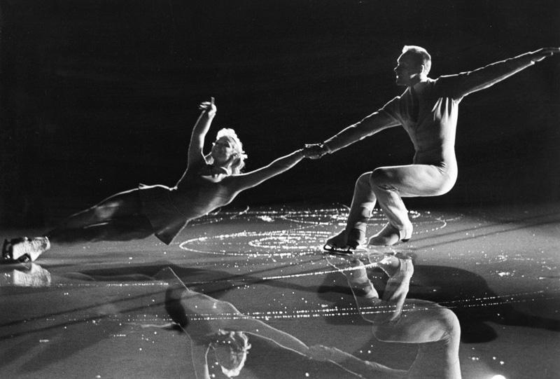 Л. Белоусова и О. Протопопов. 1965 год. Фото: Сергей Лидов