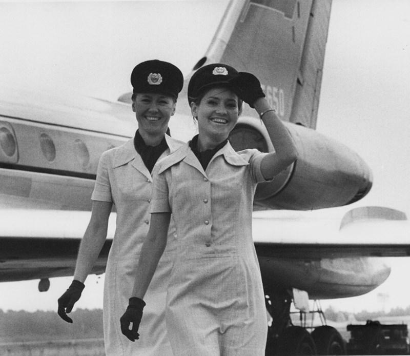 «Стюардессы». 1970 год. Фото: Андрей Князев