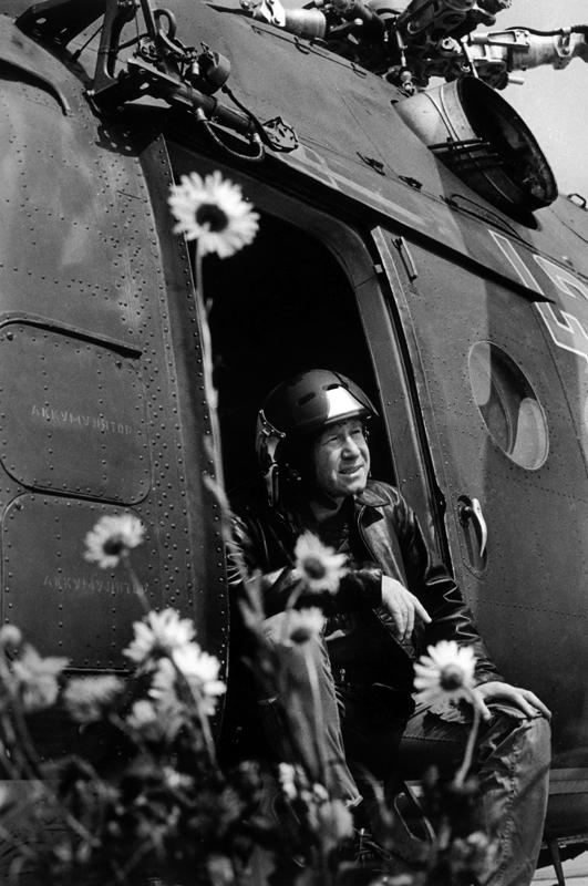 Алексей Леонов, командир экипажа космического корабля Cоюз-14. 1973 год. Фото: Альберт Пушкарев