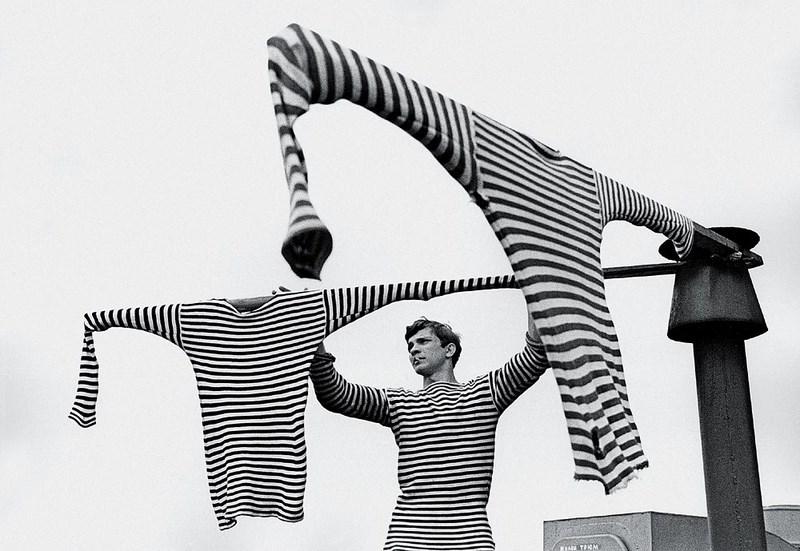 «Три тельняшки», 1968 год. Фото: Сергей Петрухин