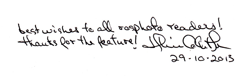 Автограф Ульрика Колета