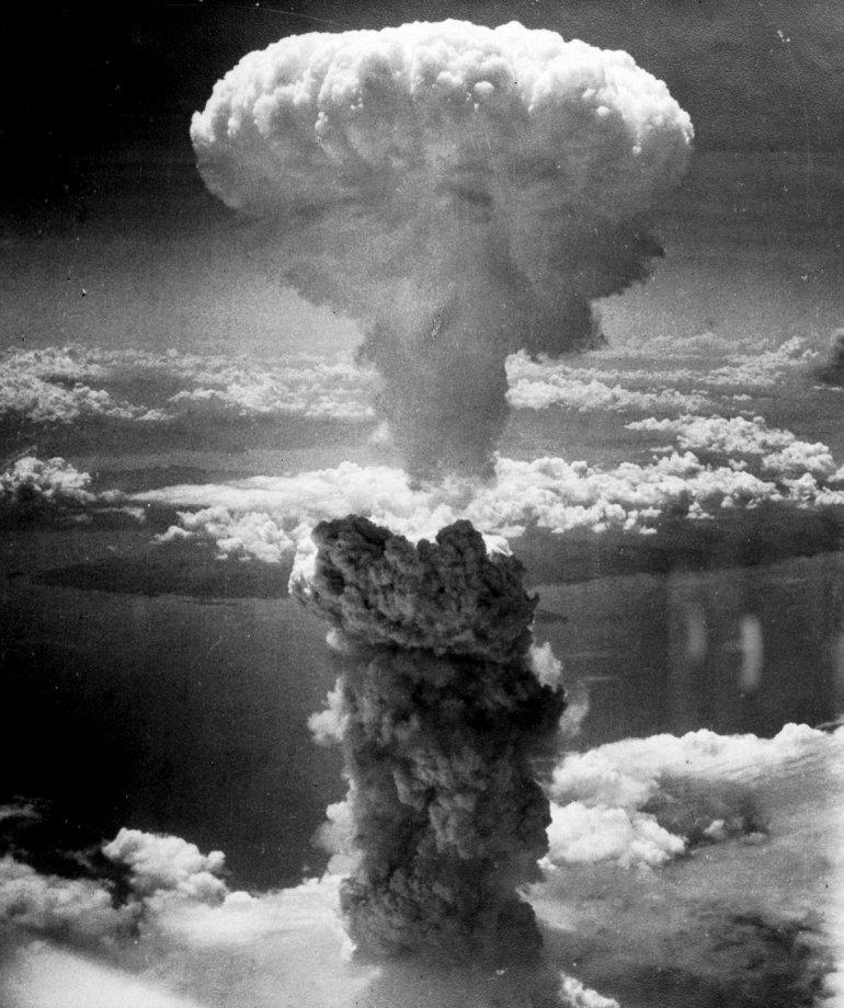 Бомба «Толстяк», 1945 год