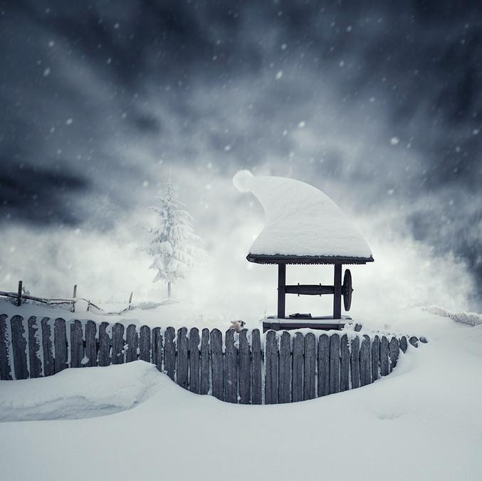 Снег, зима. Фото: Карас Йонут
