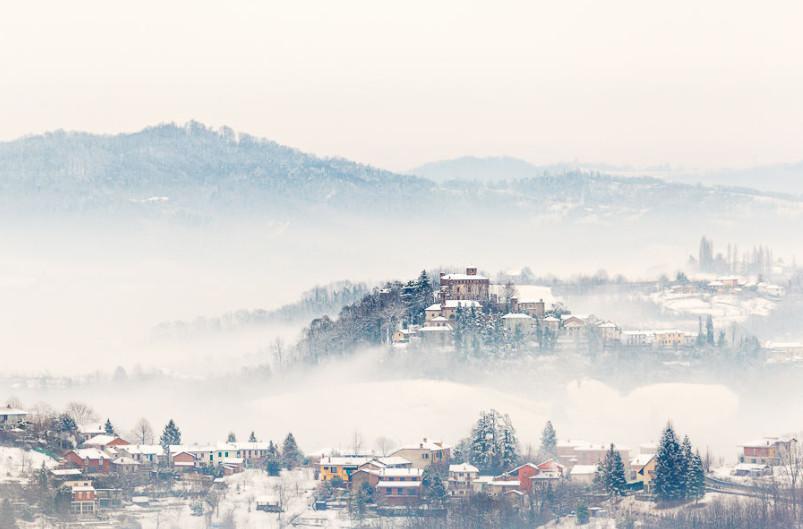 Туманное утро. Фото: Fabrizio Fenoglio