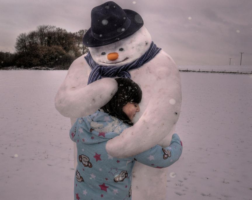 Снеговик.  Фото: Harry Hussein