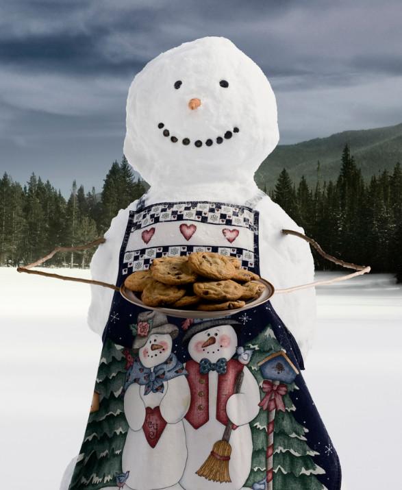 Снеговик. Фото: Justin Thornton
