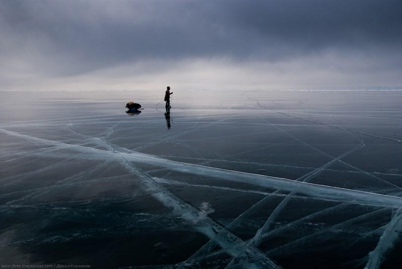Путешественники на Байкале