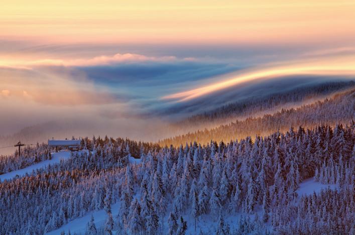 Туман в горах. Фото: Martin Rak