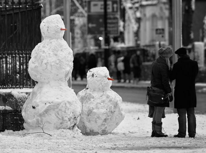 Снеговик. Фото: Blue Popovic