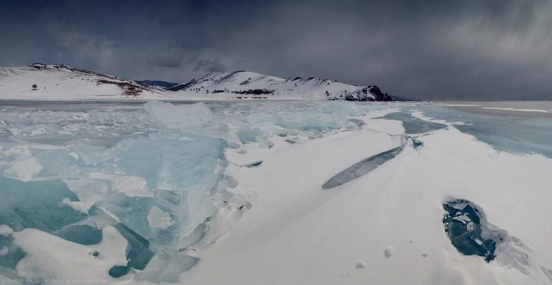 Зимние пейзажи Байкала