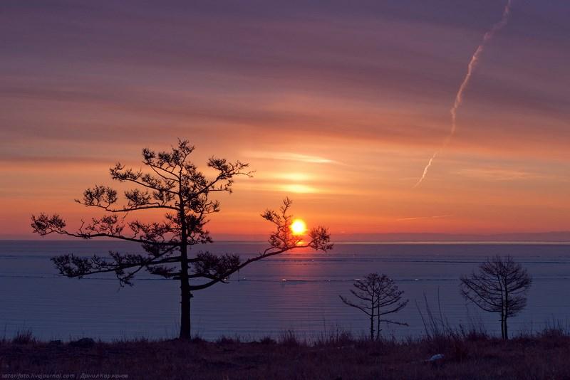 Пейзажи Байкала