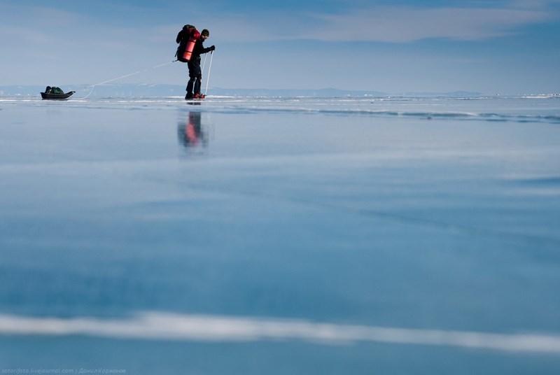 путешествие по льду
