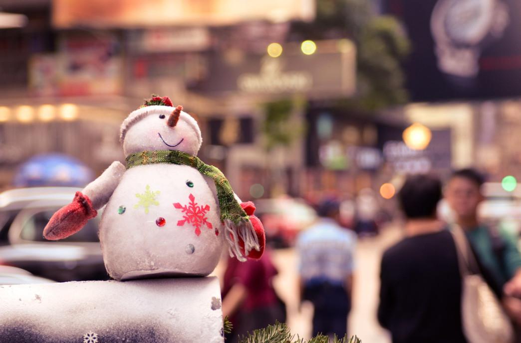 Снеговик. Фото: ES Photoworks