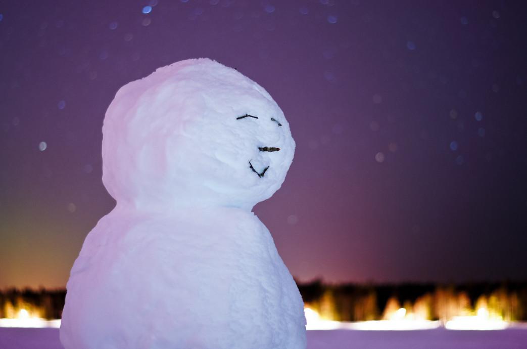 Снеговик. Фото: Sunghyuk Lim