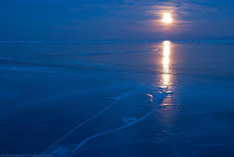 ночь и лед