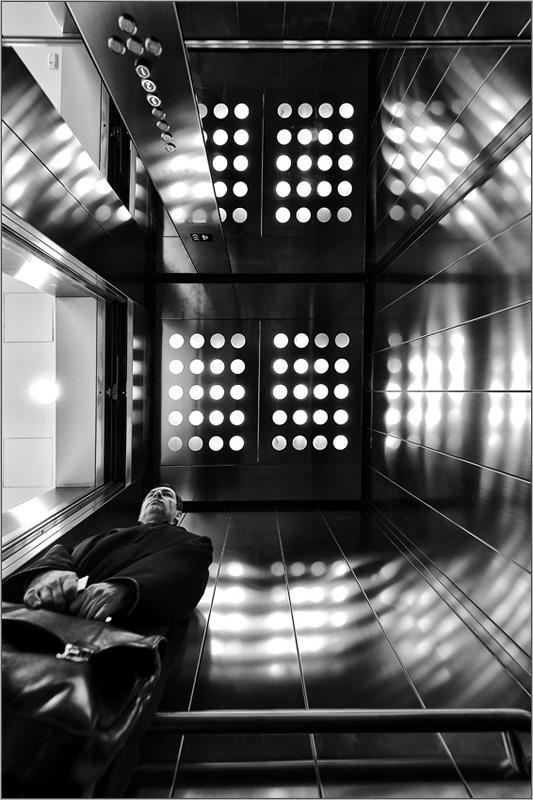Лифт в бизнес-центре Легенда