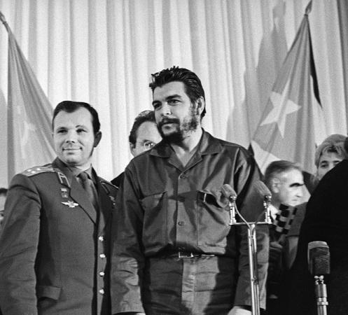 Юрий Гагарин и Эрнесто Че Гевара, 1964