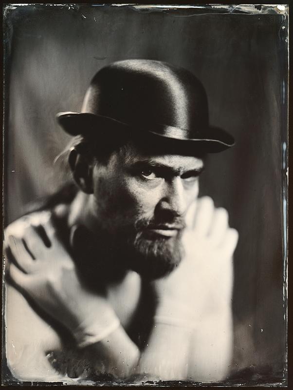 Мужской портрет. Амбротипия. Фото: Андрей Шерстюк