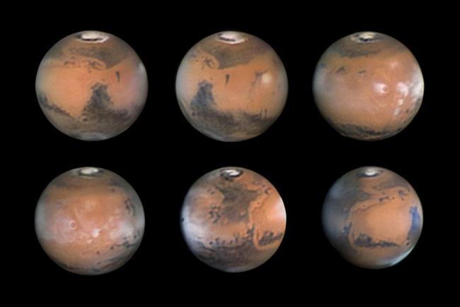 Второе место: «Марс в 2012 году». (Damian Peach/Astronomy Photographer of the Year)