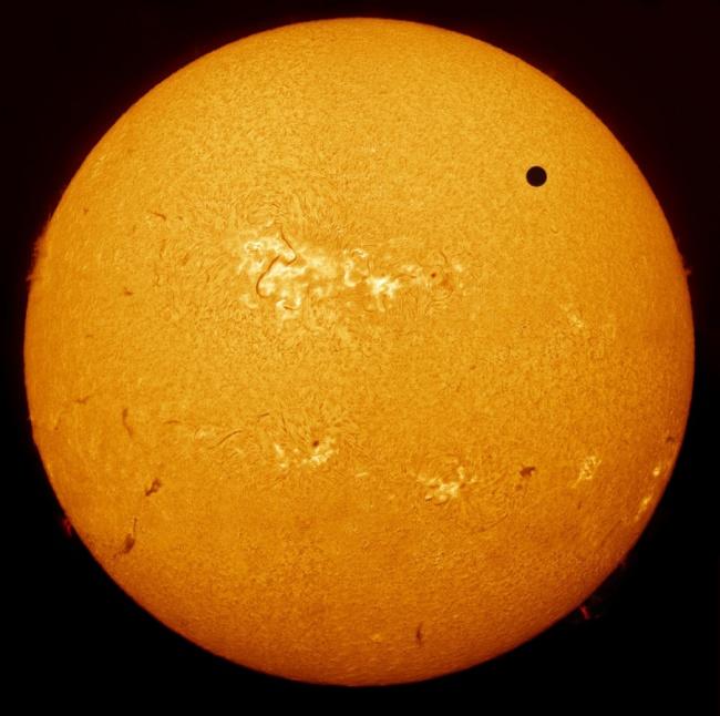 Рекомендация жюри: «Транзит Венеры». (Paul Haese/Astronomy Photographer of the Year)