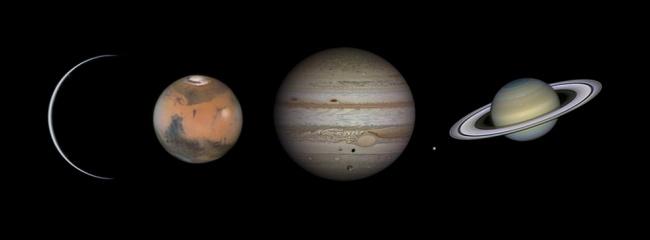 Рекомендация жюри: «Миры Солнечной системы». (Damian Peach/Astronomy Photographer of the Year)