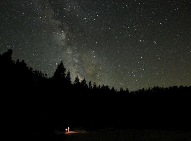 Второе место: «Потерянные в Йосемити». (Steven Christenson/Astronomy Photographer of the Year)