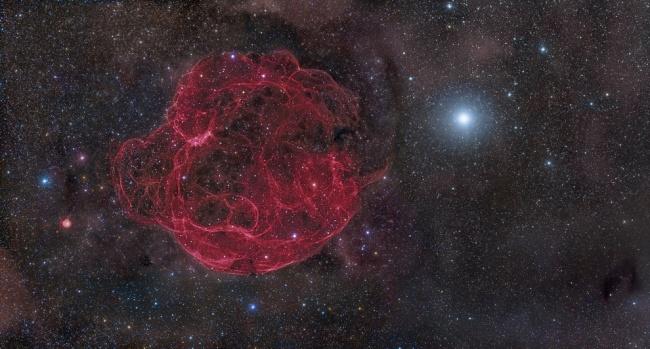 Второе место: «Остаток сверхновой Симеиз-147». (Rogelio Bernal Andreo/Astronomy Photographer of the Year)
