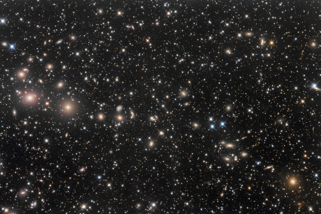 Рекомендация жюри: «Скопление Персея — Эйбелл-426». (Robert Franke/Astronomy Photographer of the Year)
