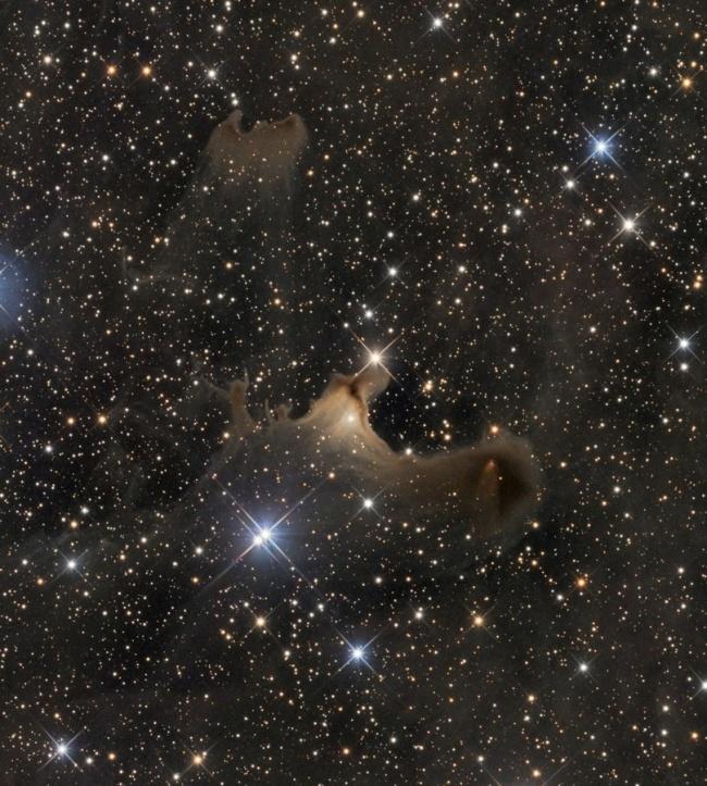 Рекомендация жюри: «Шарплесс-136: Призрак в Цефее». (Oleg Bryzgalov/Astronomy Photographer of the Year)