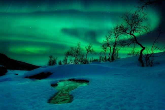 Второе место: «Зелёный мир». (Arild Heitmann/Astronomy Photographer of the Year)