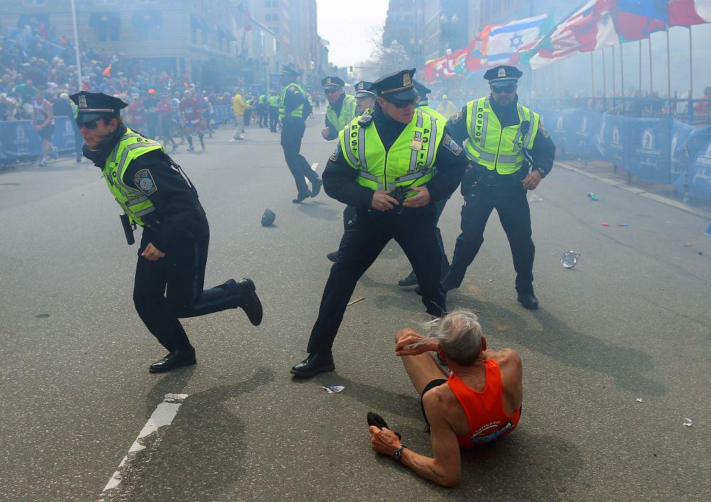Теракт в Бостоне. John Tlumacki/Getty Images