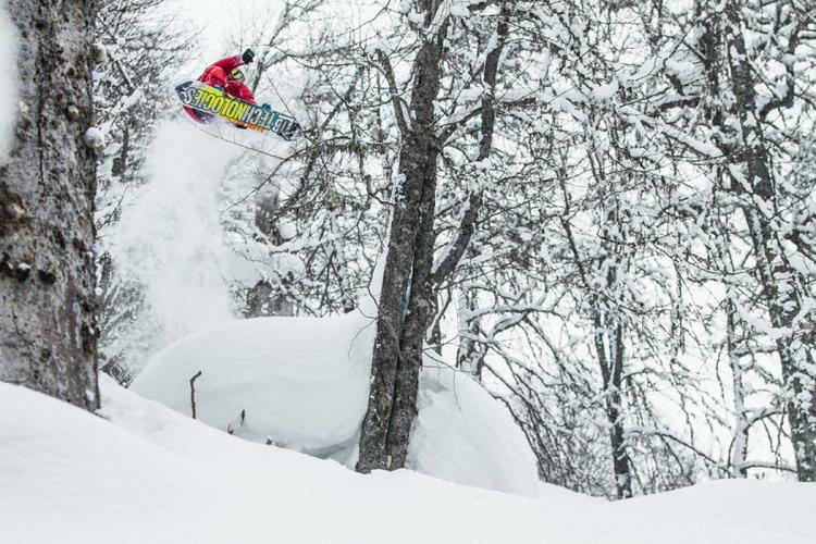Одна из самых сложных съемок – фотографирование в снегопад в горах Красной Поляны.