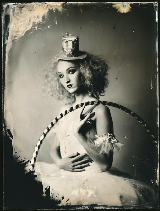 Девушка. Амбротипия. Фото: Андрей Шерстюк
