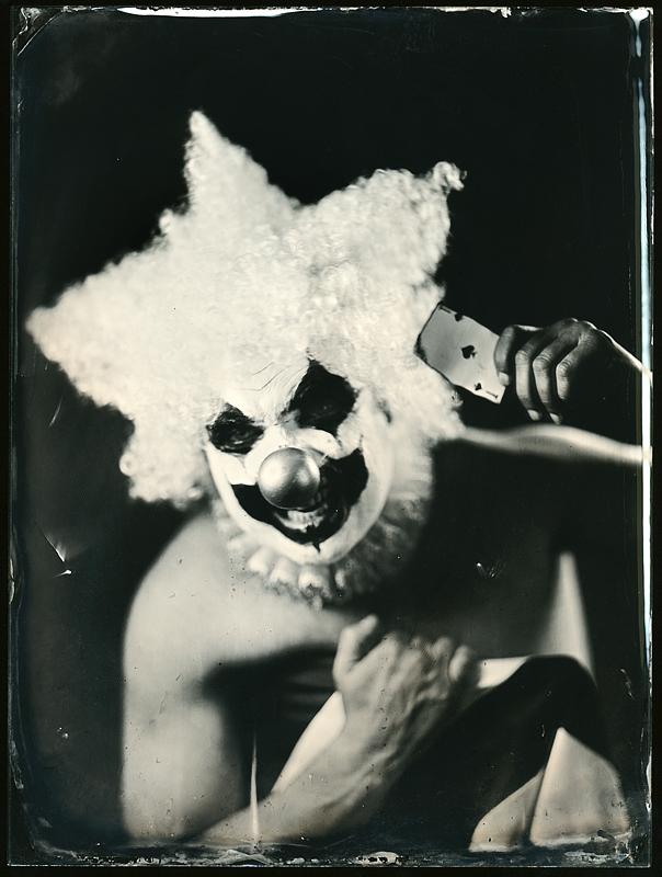 Клоун. Амбротипия. Фото: Андрей Шерстюк