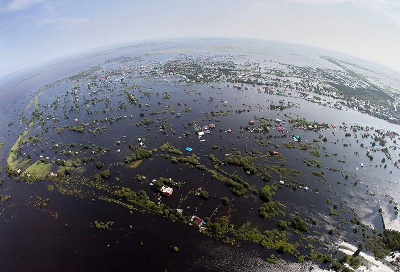 Мощнейшее наводнение на Дальнем Востоке.