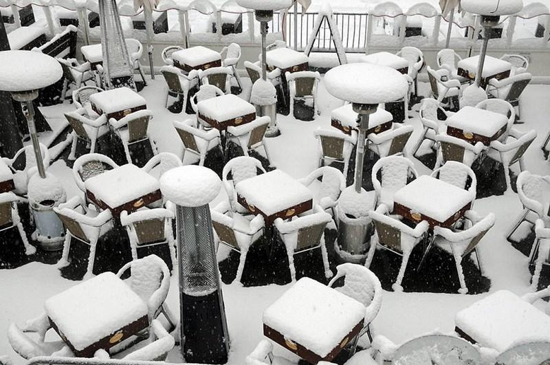 Прошлой зимой Европу засыпали сильнейшие снегопады.