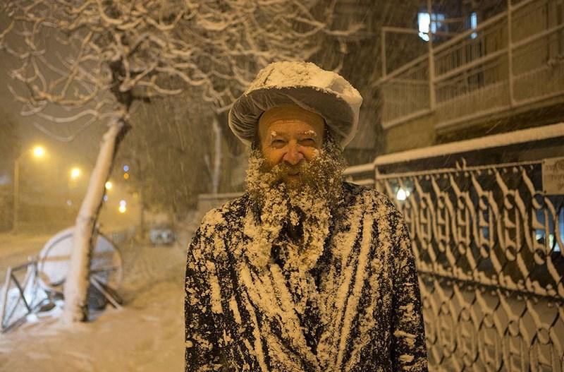 Сильнейший снегопад в Иерусалиме за 20 лет. 10 января 2013 годана Иерусалим обрушился сильнейший за последние 20 лет снегопад.