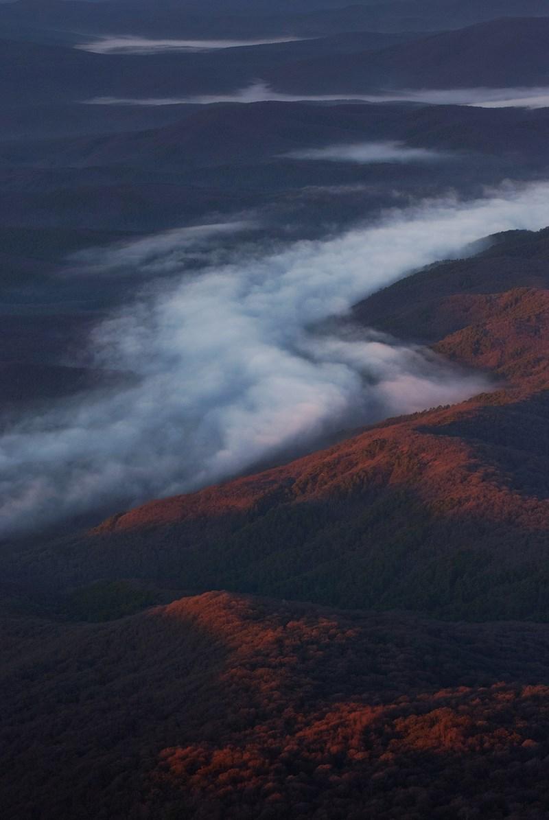 вид на горы с Эклизи-Бурун