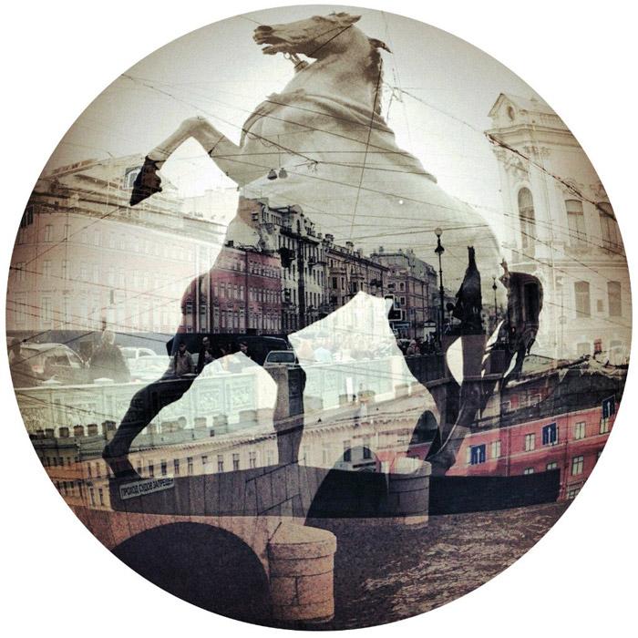 Двойная экспозиция. Санкт-Петербург. Фото Никиты Петрова