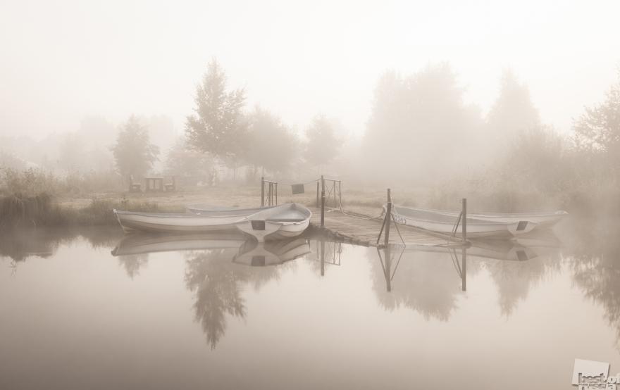 «У причала». Озеро Разлив, Анна Пакутина, город Сестрорецк