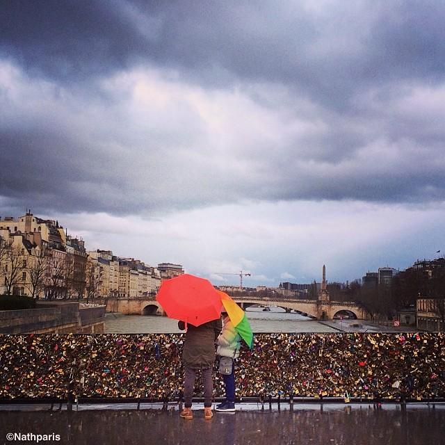 Зимний Париж, инстаграм фото