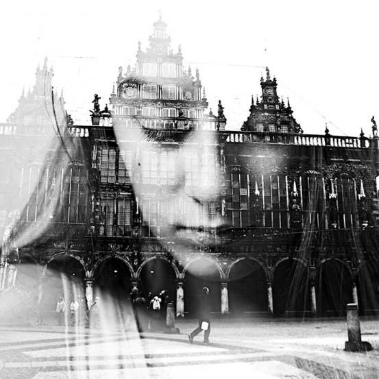 Портрет девушки в технике мультиэкспозиции. Фото: Анета Иванова (Aneta Ivanova)